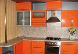 Оранжевый кухни недорого Воронеж
