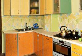 Оранжевые кухни Воронеж