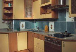 Кухни недорого Воронеж, коричневый, желтый