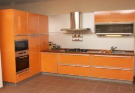 Кухни недорого оранжевый