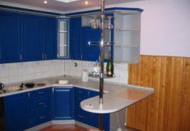 Темно-синие кухни недорого Воронеж