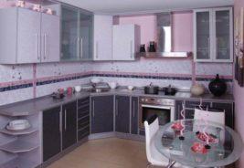 Розовые кухни недорого Воронеж