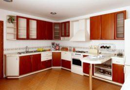 Кухни недорого - цвет коричневый - Воронеж