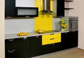 Кухни, желтый с черным, недорого Воронеж