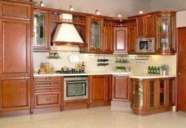 кухни из натурального массива мебель в рассрочку