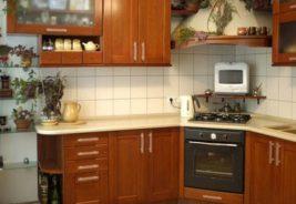 кухни из натурального массива
