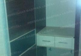 Светлое и темное дерево корпусная мебель на заказ Воронеж
