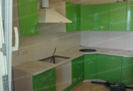 Кухни на заказ зеленый цвет Воронеж
