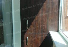 шкаф темное дерево воронеж корпусная мебель на заказ