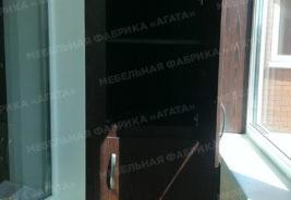 воронеж - корпусная мебель на заказ темный фкаф