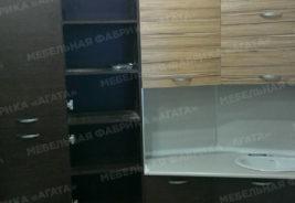 коричневый цвет корпусная мебель на заказ воронеж