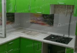 Зеленый цвет - Кухни на заказ Воронеж