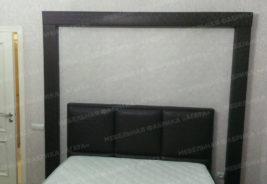 кровать, черно - белый, корпусная мебель на заказ воронеж