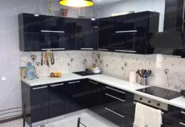 Черный - кухни на заказ Воронеж
