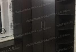 шкаф темного дерева на заказ - корпусная мебель