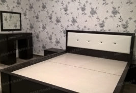 черно - белая постель корпусная мебель на заказ