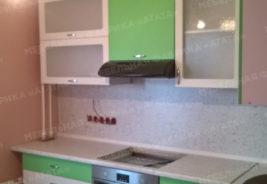 корпусная мебель на заказ - розовый, белый, зеленый