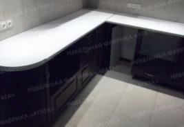 кухни на заказ белый, черный