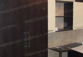 темное дерево, мебель на заказ корпусная Воронеж