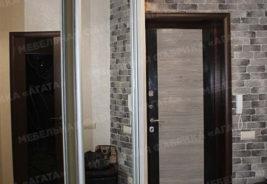 зеркало, шкаф - купе, темное дерево, на заказ корпусная мебель Воронеж