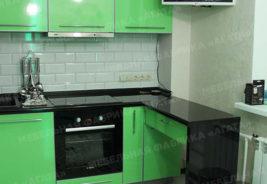 кухни в рассрочку в Воронеже - черный, зеленый