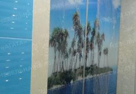 синий океан и остров шкафы-купе на заказ Воронеж