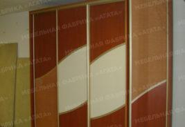 шкафы-купе на заказ - коричневый, светло-коричневый