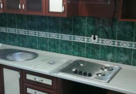 Кухни - зеленый, белый коричневый - на заказ Воронеж
