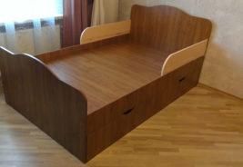Кровать, корпусная мебель на заказ Воронеж