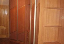 корпусная мебель на заказ, коричневый, классика