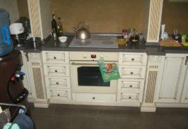 классический дизайн кухни воронеж, белый