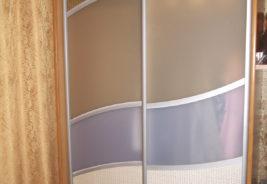 Корпусная мебель на заказ Воронеж, стекло