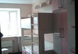 Розовый с белым - корпусная мебель на заказ Воронеж