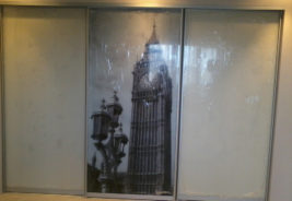 Бежевый шкаф-купе корпусная мебель на заказ Воронеж