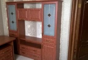 Корпусная мебель на заказ Воронеж, синие дверцы