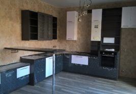 Кухни на заказ Воронеж недорого, в темных цветах